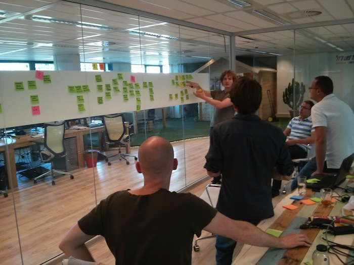 Event Storming at Qandidate.com